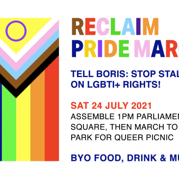 Pride March and Sunday Picnic